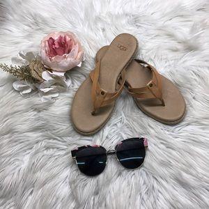 Ugg Annice Flip-flop Sandals Cafe 5